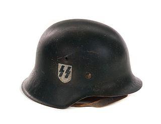 Waffen SS M42 WWII German Helmet