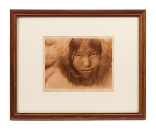 Native American Diomede Girl Photograph 192..