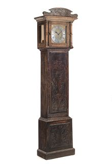 Early 1800's Grandfather Clock As IS