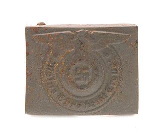 WWII German SS Belt Buckle