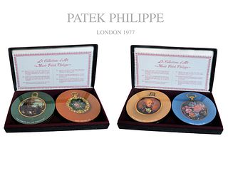2 Set of Patek Philippe Pocket Watch Coasters (12 Pcs)