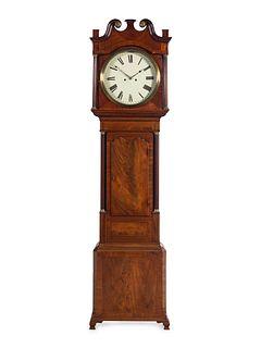 A George III Mahogany Tall Case Clock