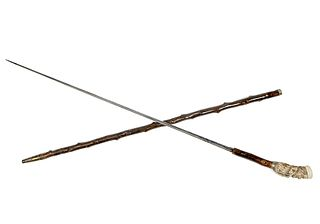 Captain's Stag Sword Cane
