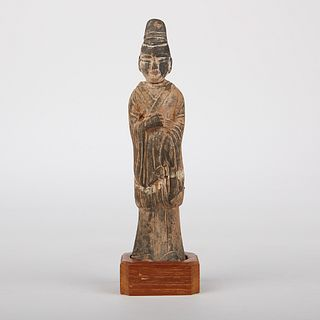 Chinese Wei Terracotta Tomb Figure Statue