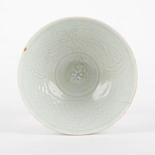 Qing Chinese Celadon Bowl