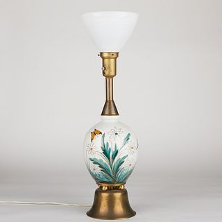 Camille Tharaud Porcelain Floral Lamp