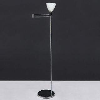 Walter Von Nessen MCM Swing Arm Floor Lamp - Marked