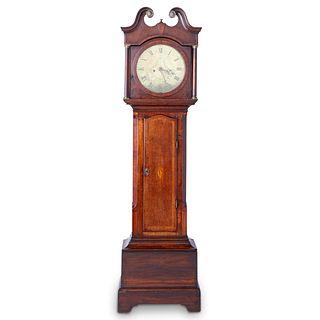 19th c. English Ellis Sheffield Tall Case Clock