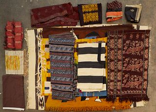 Grp: Tapestries & Woven Rugs