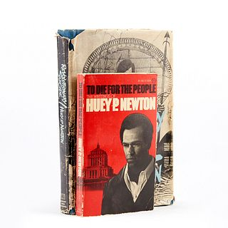 Grp: 2 First Edition Huey P. Newton Novels - Revolutionary Suicide & To Die for the People