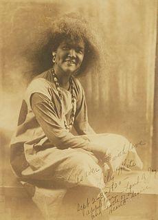 Lily Edith White Harwood Appleton Photo 1920