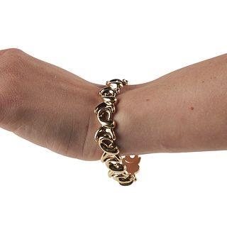 Italian 14K Gold Bracelet