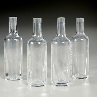 Van Day Truex for Baccarat, (4) decanters