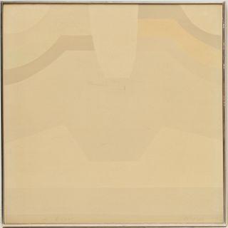 Chryssa, signed lithograph