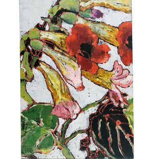 Marcia Gygli King, large oil on canvas, 1999