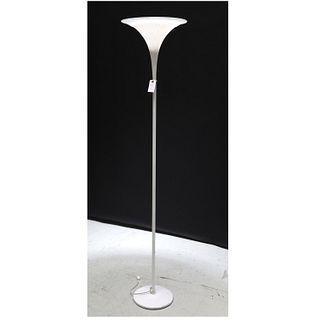 Modern Venini style torchiere floor lamp