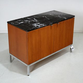 Florence Knoll, small marble top cabinet