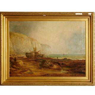 Ralph Reuben Stubbs, large oil on canvas, 1870