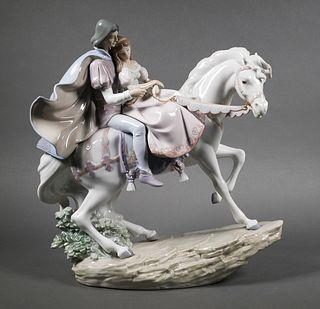 Lladro Porcelain Figurine Love Story #5991