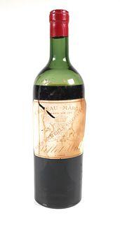 CHATEAU MARGAUX 1912 Wine Bottle