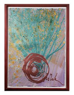 DALE CHIHULY, Original Drawing