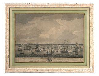 Siege of Havana, 1762, Engraving
