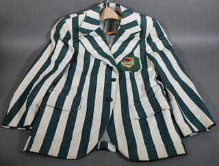Rare 1976 OLYMPICS Nigerian Team Striped Jacket
