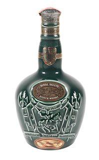 Sealed Spode Bottle Chivas Scotch Whisky