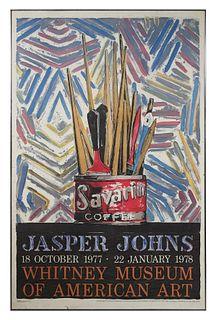 JASPER JOHNS, Lithograph Poster