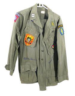 Signed Gen. Yarborough & Westmoreland Army Jacket