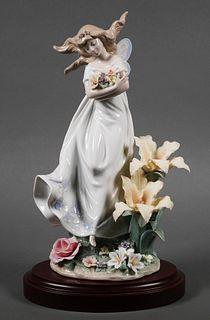 Lladro Figurine Mystical Garden #6686