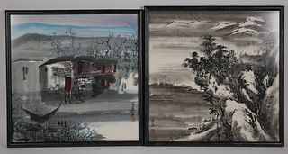 (2) Modern Chinese Paintings, Signed