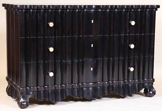 Contemporary Ebonized Chest of Drawers
