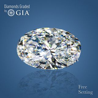 4.01 ct, G/IF, Oval cut GIA Graded Diamond. Appraised Value: $272,600
