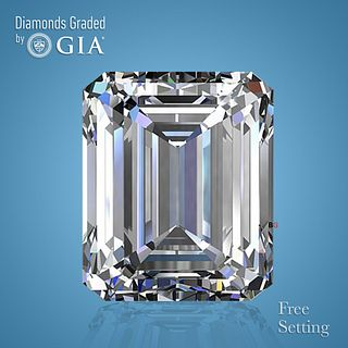 4.01 ct, G/VVS2, Emerald cut GIA Graded Diamond. Appraised Value: $203,500
