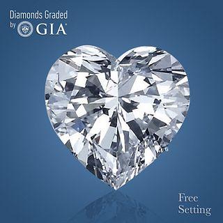 3.03 ct, H/VVS1, Heart cut GIA Graded Diamond. Appraised Value: $108,700