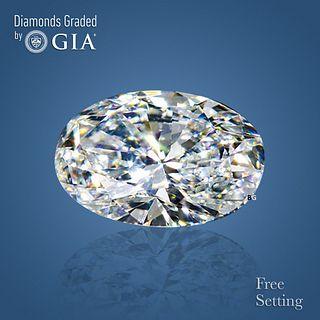 7.03 ct, G/VVS1, Oval cut GIA Graded Diamond. Appraised Value: $703,800