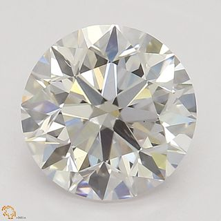1.01 ct, Natural Faint Pink Color, VS2, Round cut Diamond (GIA Graded), Appraised Value: $27,000