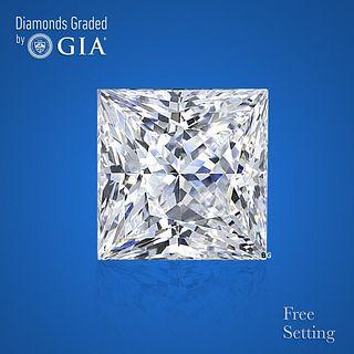 4.01 ct, D/VS1, Princess cut GIA Graded Diamond. Appraised Value: $296,700