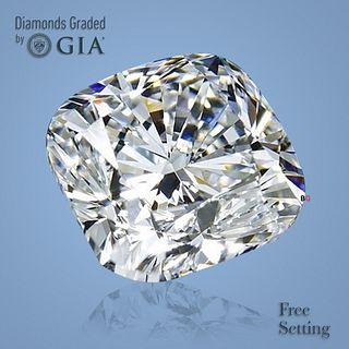 1.74 ct, I/VS2, Cushion cut GIA Graded Diamond. Appraised Value: $17,800