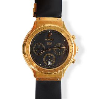 Hublot MDM 18k Gold Mens Watch