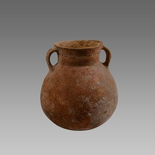 Holy land Bronze Age Terracotta Vessel c.2000 BC.