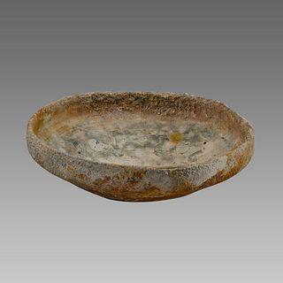 Byzantine Glazed Pottery Bowl Sea Salvage c.8th cent AD.