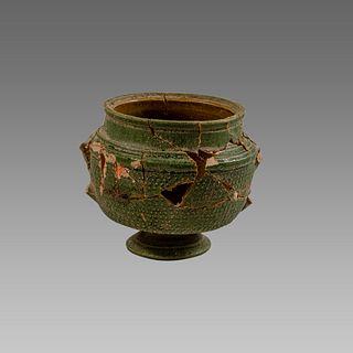 Ancient Roman Glazed Pottery Vessel c.1st cent AD.