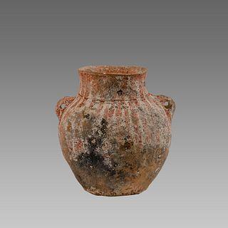 Iron Age Terracotta Jar c.1400 BC.
