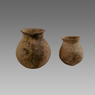 Lot of 2 Holy land Roman Terracotta Vessels c.1st cent AD.
