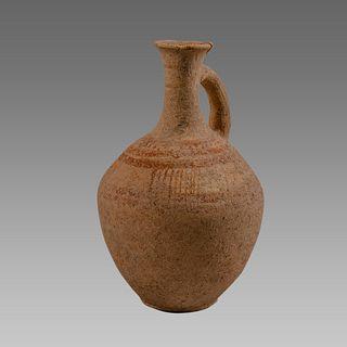 Holy land Hellenistic Terracotta Jug c.200 BC.