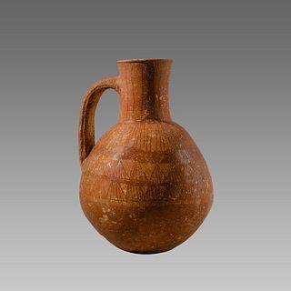 Cypriot Archaic  Terracotta Jug c.1000 BC.