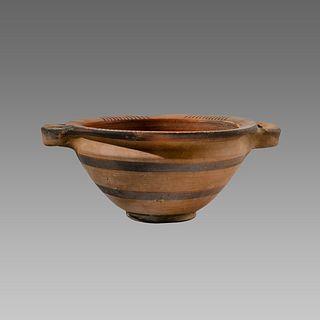 Greek Pottery Bowl c.4th century BC.