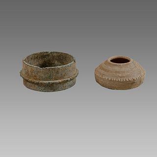 Holy land Byzantine Stone Vessels c.6th century AD.